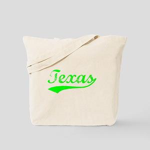 Vintage Texas (Green) Tote Bag