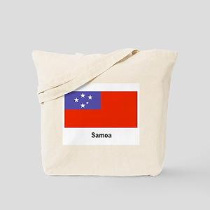 Samoa Samoan Flag Tote Bag