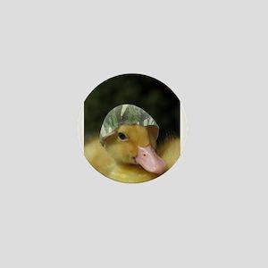 camo duck Mini Button