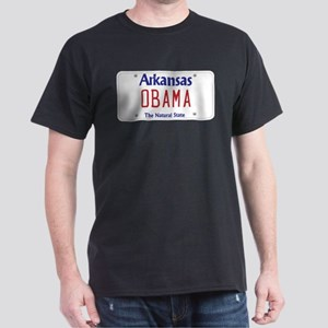 Arkansas Supports Obama Dark T-Shirt