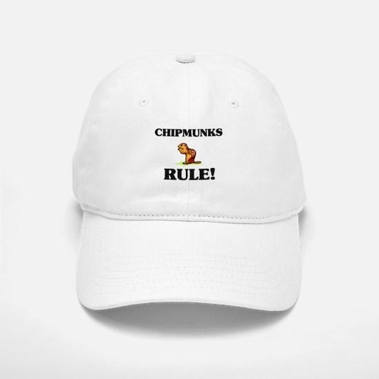 Chipmunks Rule! Baseball Baseball Cap