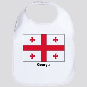 Georgia Flag Bib