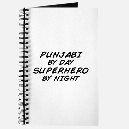 Punjabi Superhero by Night Journal