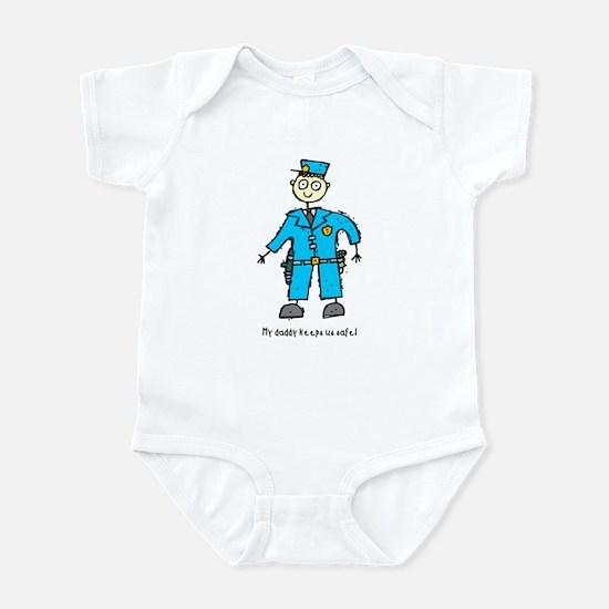Daddy's a Policeman Infant Bodysuit