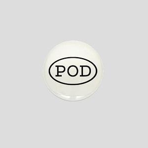 POD Oval Mini Button