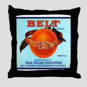 Belt Throw Pillow