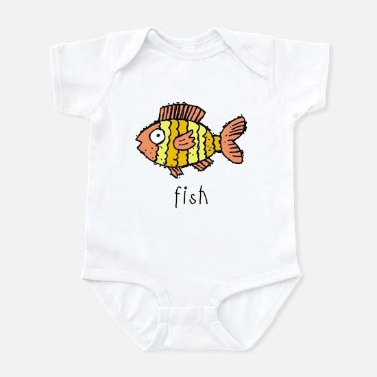 Funny Fish Infant Bodysuit
