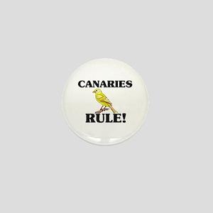Canaries Rule! Mini Button