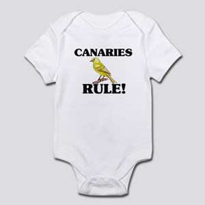 Canaries Rule! Infant Bodysuit