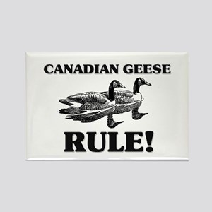 Canadian Geese Rule! Rectangle Magnet