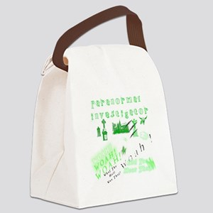 Paranormal Ghost Investigator Canvas Lunch Bag