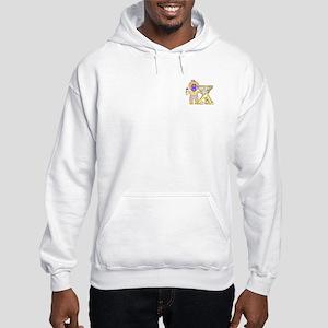 Baby Initials - X Hooded Sweatshirt