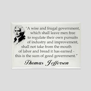 """Thomas Jefferson"" Magnet"