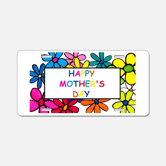 Unique First mothers day Aluminum License Plate