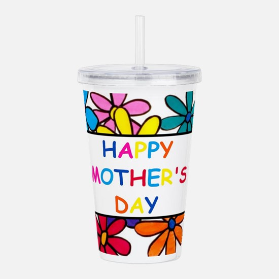 Funny First mothers day Acrylic Double-wall Tumbler