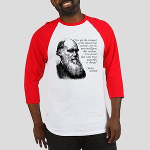 Darwin on Survival Baseball Jersey