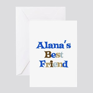 Alana's Best Friend Greeting Card