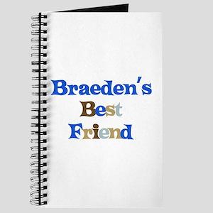 Braeden's Best Friend Journal