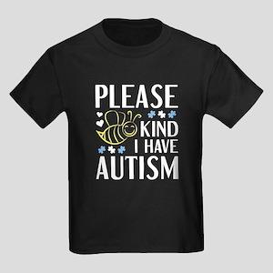 I Have Autism Women's Dark T-Shirt