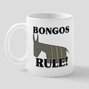 Bongos Rule! Mug