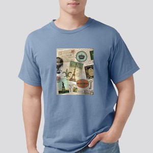Vintage Travel collage T-Shirt