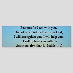 ISAIAH 41:10 VERSE Sticker (Bumper)