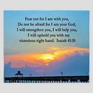 ISAIAH 41:10 VERSE King Duvet