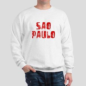 Sao Paulo Faded (Red) Sweatshirt