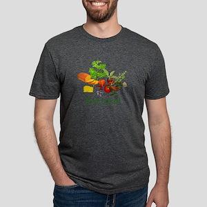 Eat Local Mens Tri-blend T-Shirt