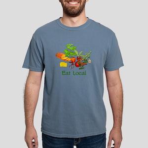 Eat Local Mens Comfort Colors Shirt