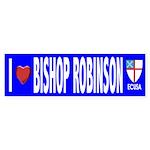I Love Bishop Robinson ECUSA Bumper Sticker