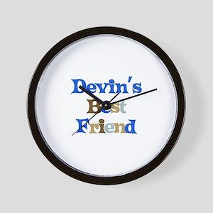 Devin's Best Friend Wall Clock