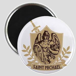 Saint Michael Shield Magnets