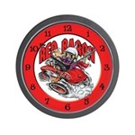 The Red Baron Clock Wall Clock