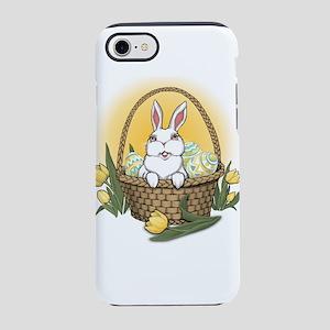 Easter Bunny Basket Art iPhone 8/7 Tough Case