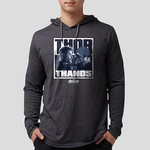 Avengers Infinity War Thor Mens Hooded Shirt