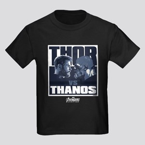 Avengers Infinity War Thor Kids Dark T-Shirt