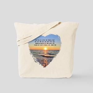 JOHN 3 16 VERSE Tote Bag