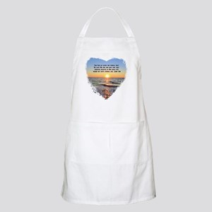 JOHN 3 16 VERSE Light Apron