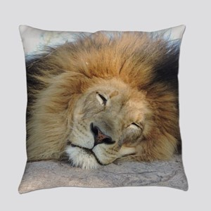 Sleeping Lion Everyday Pillow