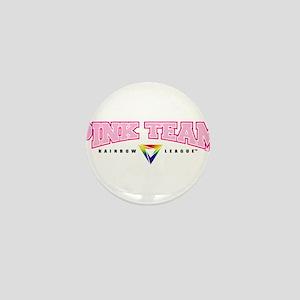 Pink Team Mini Button