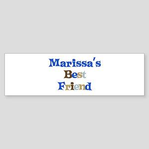 Marissa's Best Friend Bumper Sticker