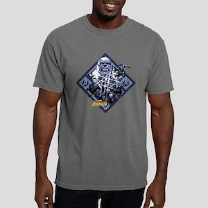 Avengers Infinity War Th Mens Comfort Colors Shirt