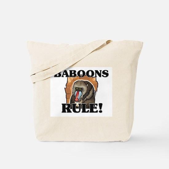 Baboons Rule! Tote Bag