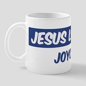 Jesus Loves Joyce Mug