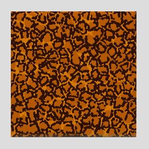 Jaguar Spots Tile Coaster