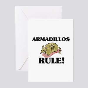 Armadillos Rule! Greeting Cards (Pk of 10)