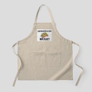 Armadillos Rule! BBQ Apron