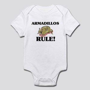 Armadillos Rule! Infant Bodysuit