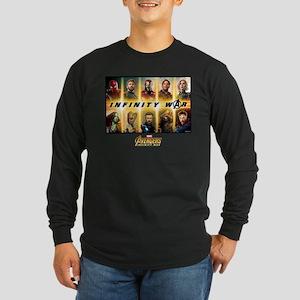 Avengers Infinity War Tea Long Sleeve Dark T-Shirt